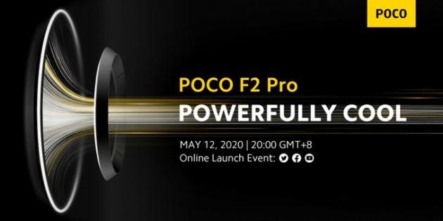 Pocophone F2 Pro in arrivo il 12 maggio