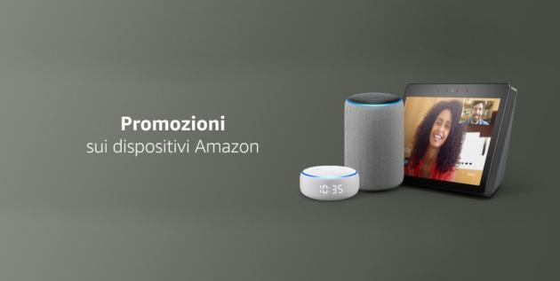 Dispositivi Amazon: in promozione l'intero catalogo