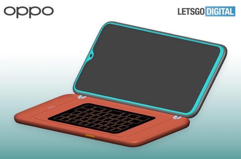OPPO: Um smartphone patenteado com um teclado físico