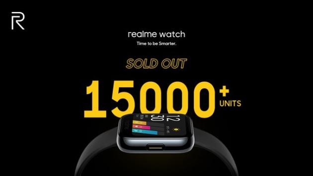 Il nuovo smartwatch di Realme vende 15.000 unità in 2 minuti, pronto per l'Europa