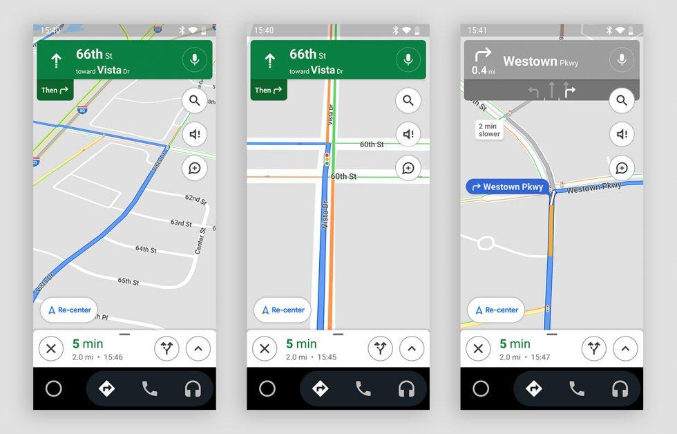 google maps semafori