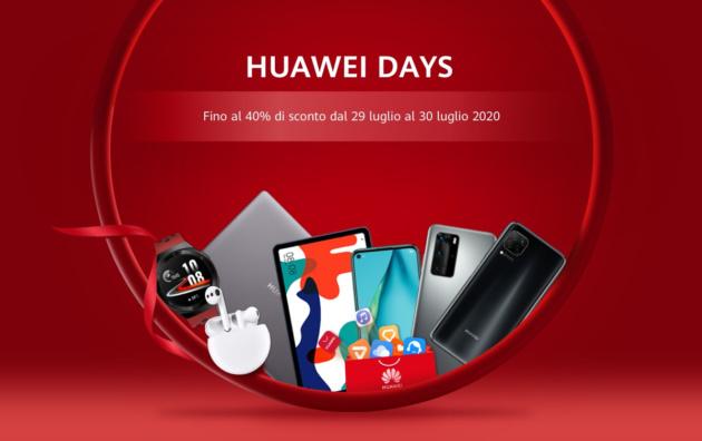 Huawei Days, ultimo giorno di sconti su moltissimi prodotti