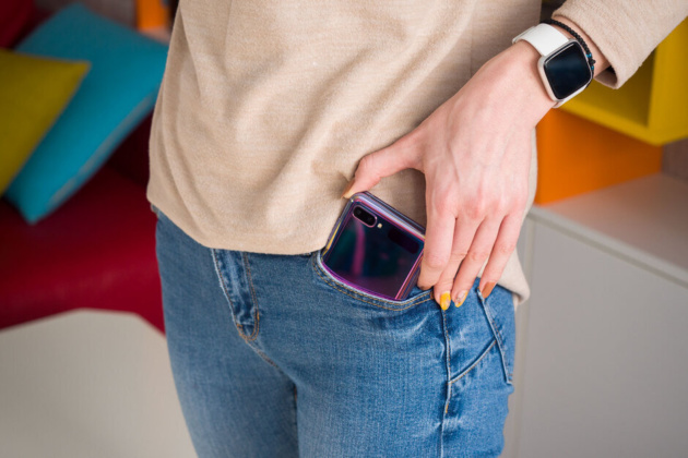 Il Samsung Galaxy Z Flip 5G trapela online in una colorazione innovativa