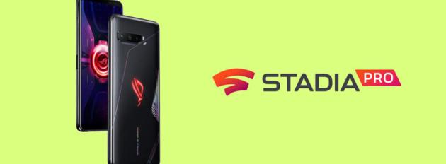 ASUS ROG Phone 3 verrà fornito con 3 mesi gratuiti di Stadia Pro