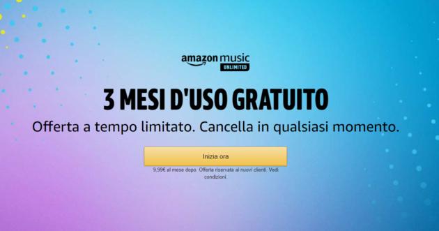 Amazon Music Unlimited: Ecco come avere 3 mesi gratuiti!