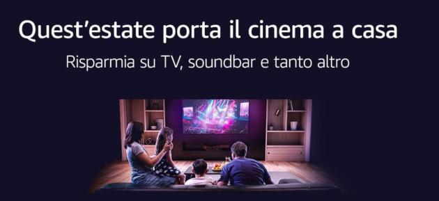 Amazon Cinema Week: tantissime offerte su TV di ogni marchio