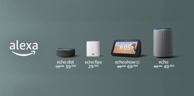 Dispositivi Echo al prezzo più basso di sempre su Amazon