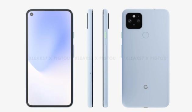 Anche Google Pixel 5 XL si mostra in una serie di leaks