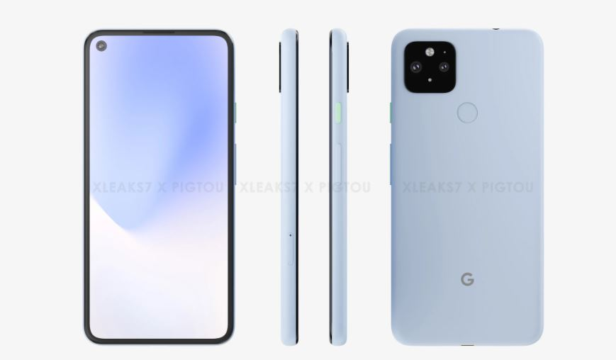 Google Pixel 5 XL leak