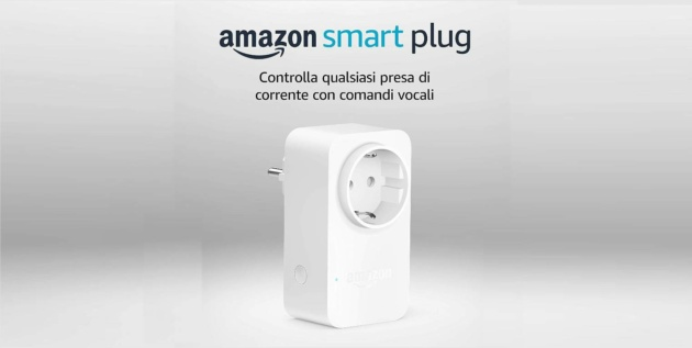 Amazon Smart Plug a soli 9.99 euro con il codice SMART10