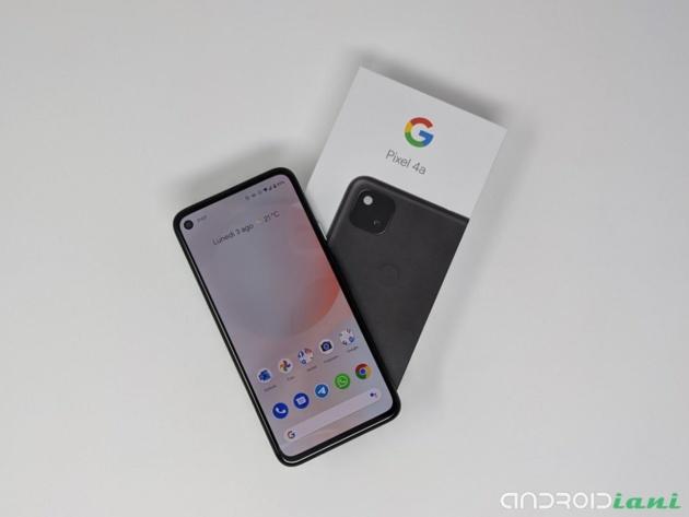 Google Pixel 4a ufficiale: pura Google Experience a 389€
