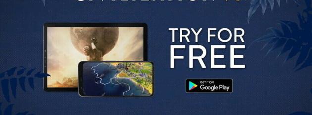 Civilization VI arriva su Android con una prova gratuita