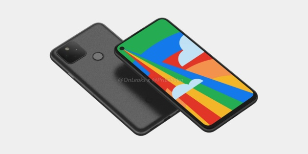 Google Pixel 5 si mostra in nuovi render