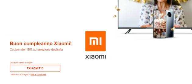 eBay festeggia Xiaomi con un buono sconto speciale del 15%: PXIAOMIT15