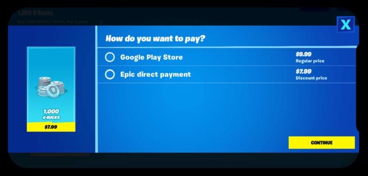 Fortnite rimosso sia dal Play Store che dall'Apple Store