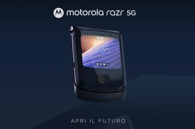 Motorola razr 5G ufficiale: più potente e completo a 1599.99€