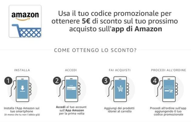 Amazon Buono sconto di 5 Euro per i primi 10.000 utenti Prime: ecco come averlo!