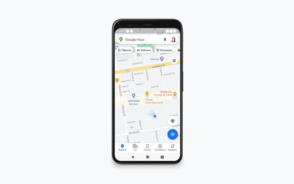 google maps aggiorna le indicazioni sull'affollamento