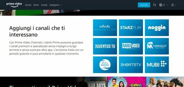 Come provare gratuitamente i nuovi Canali Amazon Prime Video