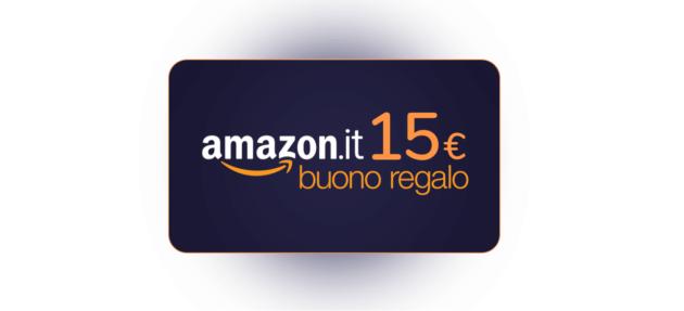 Ecco come ricevere 15 euro di buono sconto in regalo da Amazon