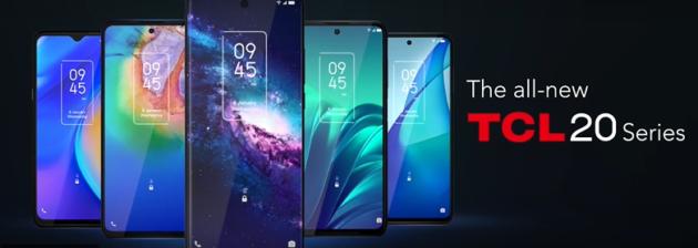 CES 2021: TCL presenta i suoi nuovi smartphone serie 20, tablet e accessori