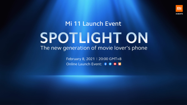 Xiaomi Mi 11 in versione Global sarà presentato lunedì 8 febbraio