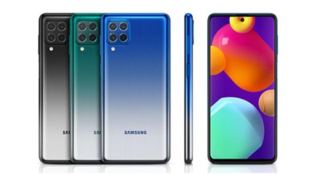Samsung Galaxy M62 ufficiale con mega batteria e display Super AMOLED