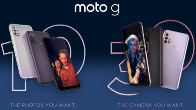 Motorola presenta i nuovi smartphone di fascia media Moto G30 e Moto G10
