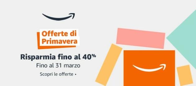 Offerte Amazon di Primavera: sconti su Smartphone, PC, Smartwatch, ect