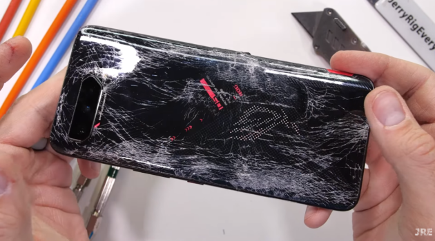 JerryRigEverything Vs ROG Phone 5: epic fail?
