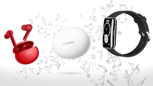 Huawei presenta FreeBuds 4i e WatchFit Elegant