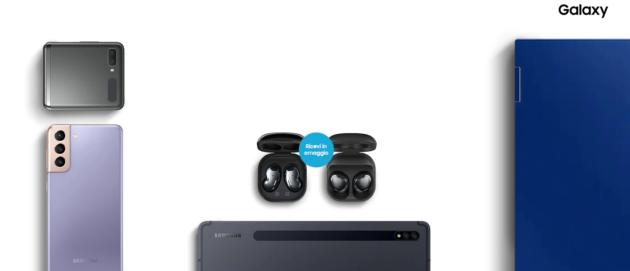 Amazon sconta Galaxy Note 20 anche 5G: da 649€ con Buds Live in regalo