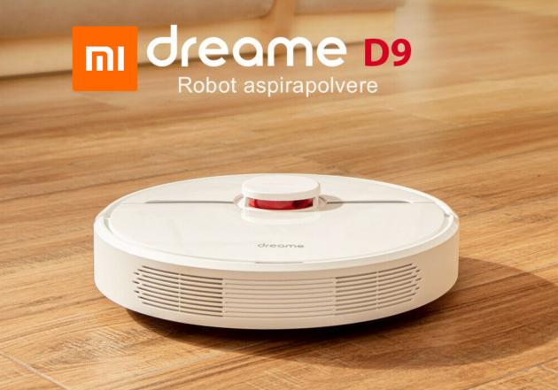 Xiaomi Dreame D9 in offerta lampo su Amazon, lava e aspira a soli 213 €