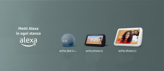 Amazon sconta alcuni dei suoi dispositivi Echo per la festa della mamma