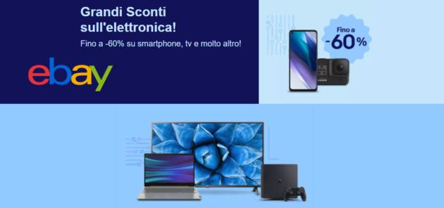 eBay ecco tutte le migliori della Tech Week, Smartphone 5G a soli 189 €