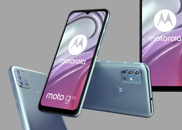 Motorola presenta il nuovo moto g20