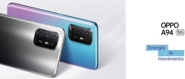 Oppo annuncia A94 5G, A74 5G e A54 5G