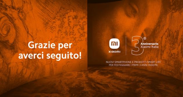 Xiaomi terzo anniversario in Italia e tante novità