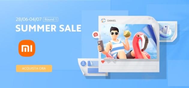 Xiaomi Summer Sale: tantissime offerte su smartphone, accessori e non solo