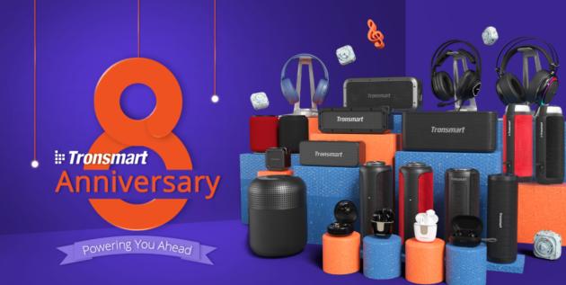 Tronsmart compie 8 anni e premia i suoi utenti!