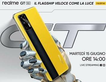 Realme presenterà il suo flagship Realme GT il 15 giugno