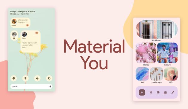 Ecco le prime app ad utilizzare Material You
