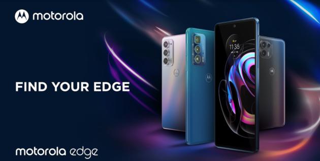 Motorola presenta i tre smartphone della nuova serie Edge 20