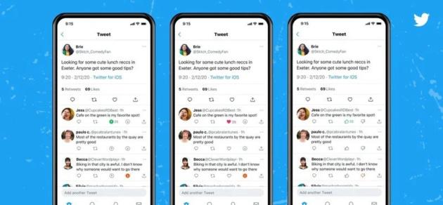 Twitter aggiunge il tasto