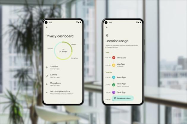 Android 12: Nuove funzioni Privacy