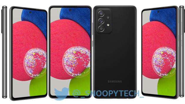 Trapelano le prime immagini sul Galaxy A52s