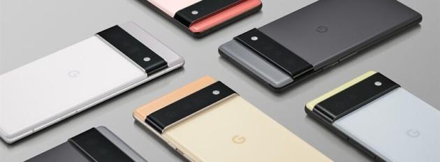 Google svela ufficialmente Pixel 6 e 6 Pro
