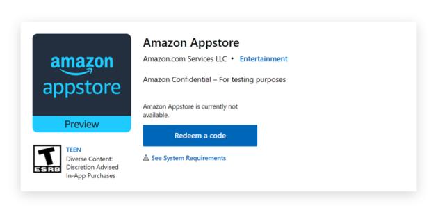 Le app Android arriveranno su Windows 11 con Amazon Appstore