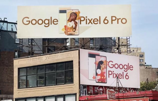 Google mette in mostra i nuovi Pixel 6 a New York