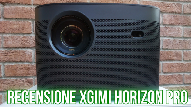 XGIMI Horizon Pro 4k: spegni la luce, prendi i popcorn e sei al cinema - RECENSIONE